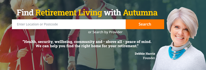 find retirement living with autumna
