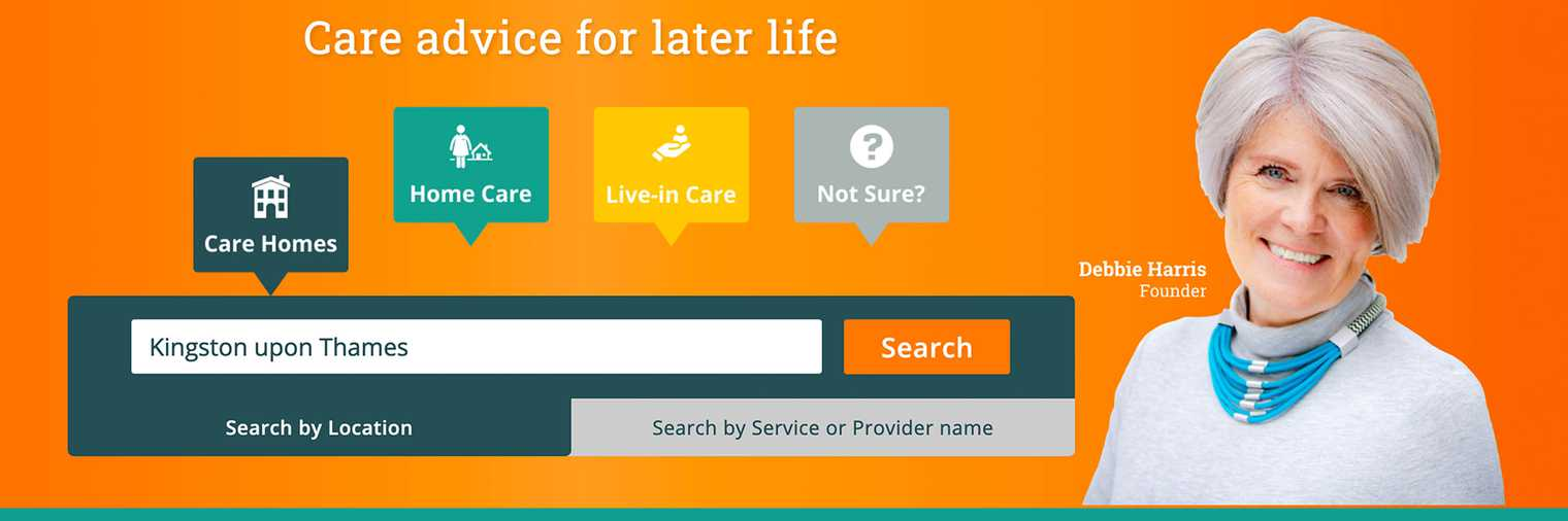 Use the Availability tab to filter your elderly care search on Autumna
