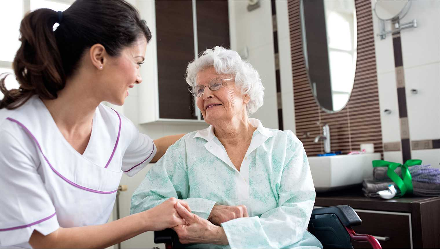Retirement Living developments will generally have an optional home care service