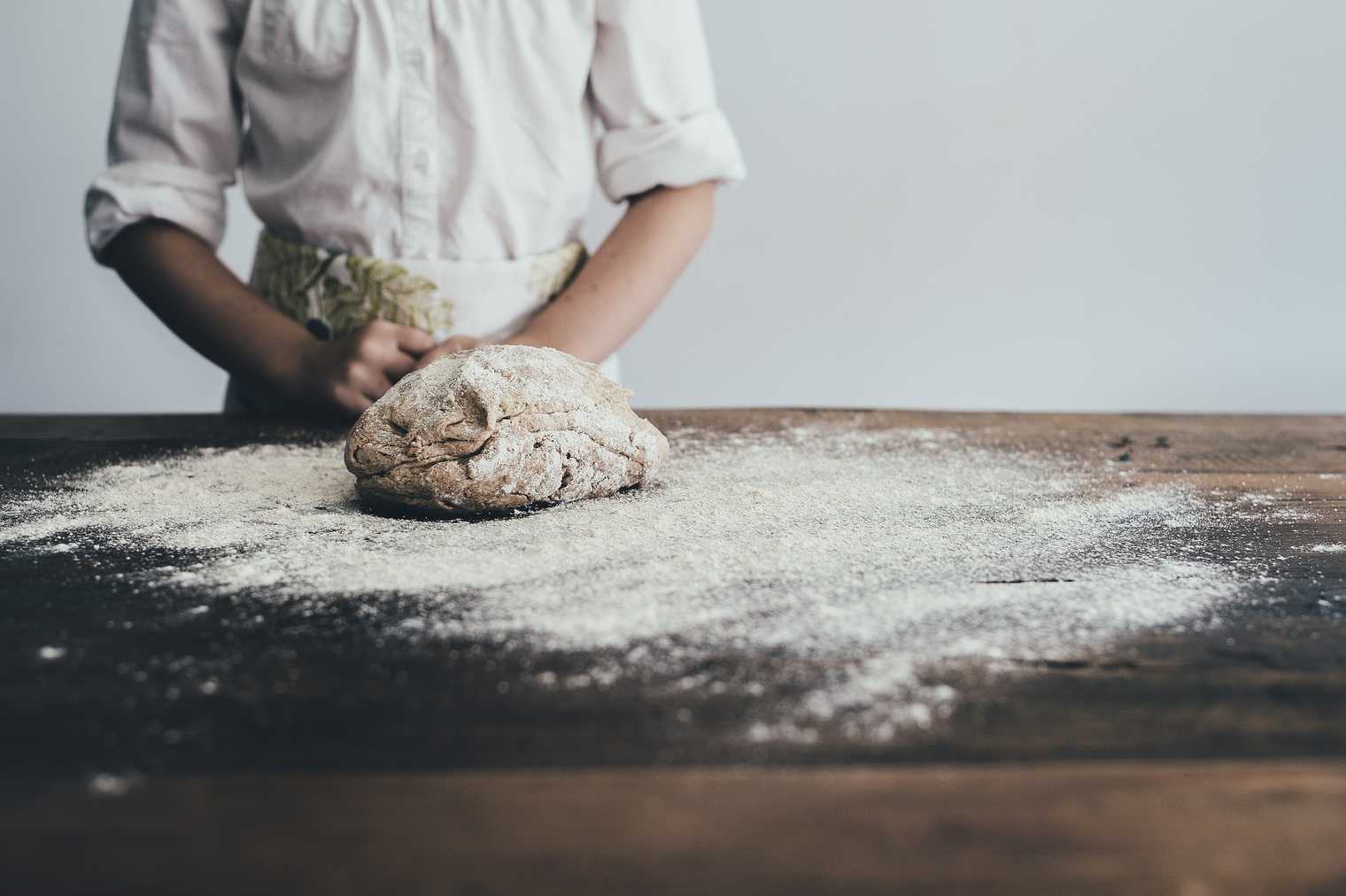 The smell of baking bread...