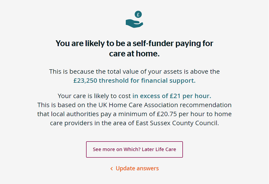 Discover the cost of local home care services